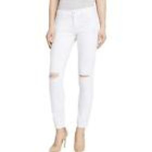 DL1961 Jeans - DL1961 9610 Womens Azalea White Relaxed Fit White